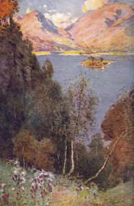 A Glimpse of Grasmere by Alfred Heaton Cooper